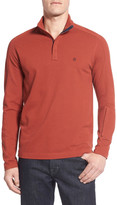 Victorinox Long Sleeve Quarter Zip Polo