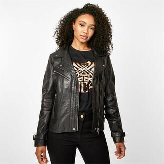 Biba Leather Biker Jacket