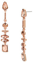 Kenneth Cole New York Crystal Linear Drop Earrings