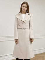 Belted Wool Coat - ShopStyle