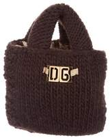 Dolce & Gabbana Small Knitted Tote