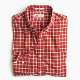 Thomas Mason Slim for J.Crew shirt in brushed windowpane oxford