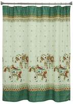 Bacova Boho Elephant Shower Curtain