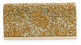 La Regale Studded Metallic Clutch