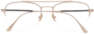 Tom Ford Half Frame Aviator Glasses