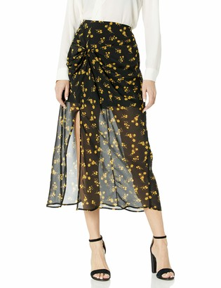 The Fifth Label Women's Region Floral Midi Skirt