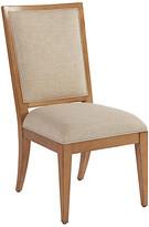 Barclay Butera Eastbluff Side Chair - Sand frame, sandstone; upholstery, sand