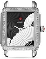 Michele Deco II Fan Diamond Dial Watch Head, 26 x 27.5mm