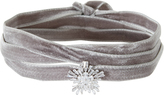 Fallon Monarch Velvet Starburst Wrap Choker