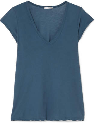 James Perse Cotton-jersey T-shirt - Teal