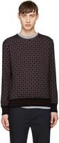 Giuliano Fujiwara Multicolor Pattern Sweatshirt