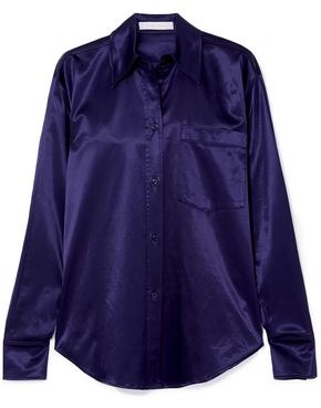 See by Chloe Cotton-blend Satin Shirt