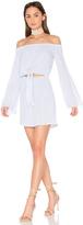 L'Academie x REVOLVE The Tie Front Off Shoulder Dress