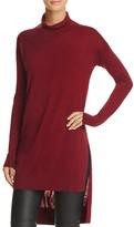 Splendid High/Low Turtleneck Sweater