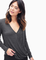 Splendid Slub Jersey Twist Front Top