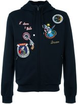 Dolce & Gabbana space patch hoodie