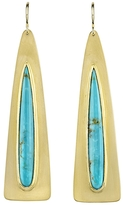 Irene Neuwirth Pear Shape Kingman Turquoise Earrings