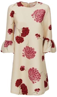 La DoubleJ 24/7 Floral Mini Dress