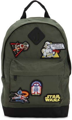 Star Wars Fabric Flavours CANVAS BACKPACK W PATCHES