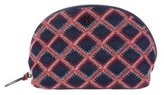 Tory Burch Flame-Quilt Cosmetic Case