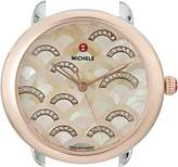 Michele Women's 'Serein 16' Swiss Quartz Stainless Steel Dress Watch, Color:Two Tone (Model: MW21B00L4978)