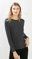 Esprit Floaty melange long sleeve top