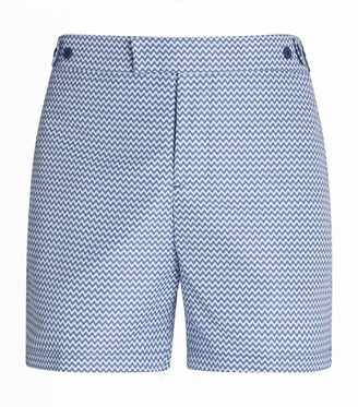 Frescobol Carioca Copacabana Wave Tailored Swim Shorts