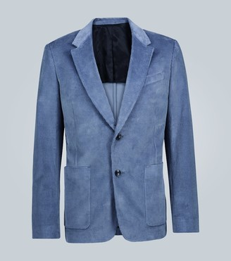 Ami Slim-fit corduroy blazer