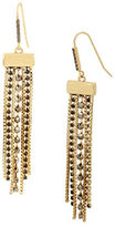 Kenneth Cole New York Faceted Stone Multi-Row Chandelier Earrings