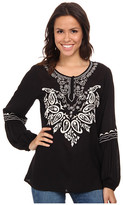 Scully Gabriella Embroidered Top