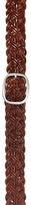 Aeropostale Woven Braided Wide Leather Belt
