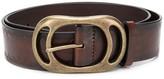 DSQUARED2 oval buckle belt