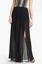 Pleat Maxi Skirt Rich Black 6