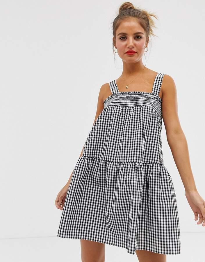 3c686985dac Gingham Dress Asos - ShopStyle UK