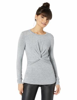 Bailey 44 Women's Girl Crush Twist Front Sweater Knit Top