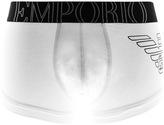 Giorgio Armani Emporio Underwear Trunk Briefs White