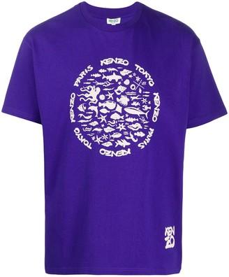 Kenzo Tokyo print T-shirt