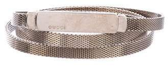Gucci Chain-Link Waist Belt