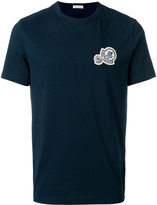 Moncler brand patch crew neck T-shirt - men - Cotton - S