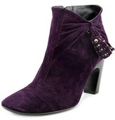 Roger Vivier Stivaletto Nappine T.85 Round Toe Suede Bootie.