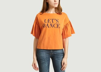 Bobo Choses Lets Dance Short Flutter Sleeves - M