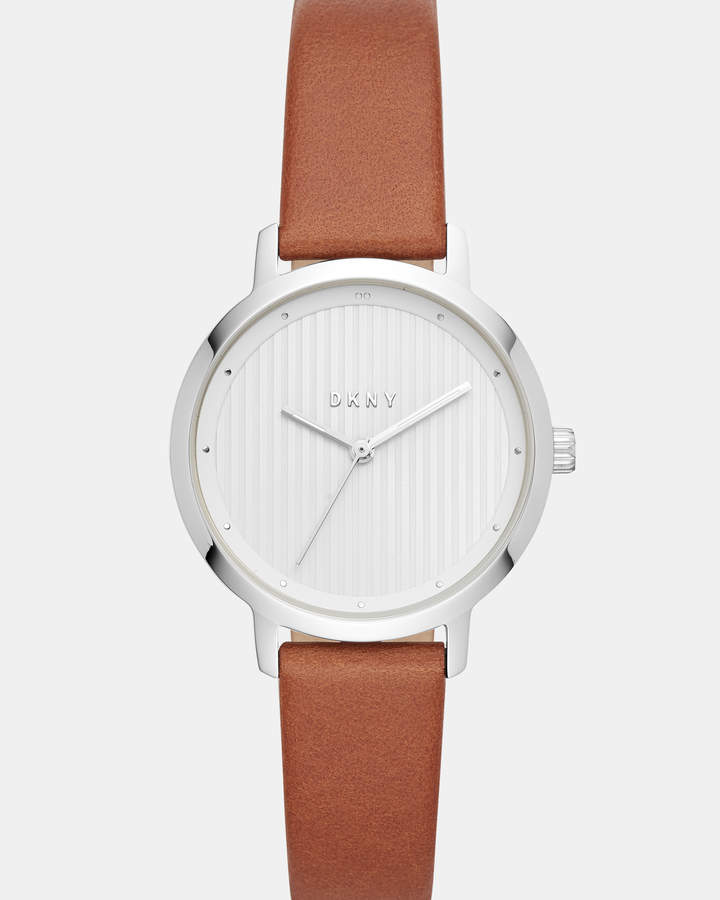 DKNY The Modernist Brown Analogue Watch