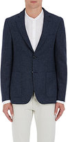 Officine Generale Men's Plaid Wool Tweed Two-Button Sportcoat