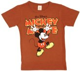 Logoshirt Disney Mickey Hands Up Logo Boy's T-Shirt