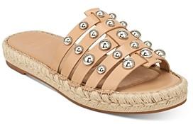 Marc Fisher Women's Tamie Embellished Flat Sandals