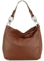 FASH Limited Chic Hobo Handbag Glossy Texture PU Leather Handbag