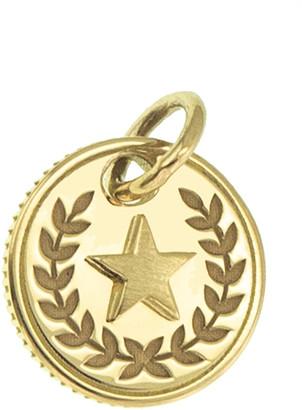 Foundrae Per Aspera Ad Astra Mini Coin Medallion - Yellow Gold