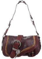Christian Dior Python Gaucho Bag