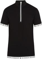 Givenchy Contrast-trim cotton-piqué polo shirt