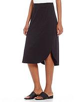Eileen Fisher Shirttail Hem Skirt